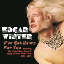 Edgar Winter: I've Got News For You (Expanded-Edition), 6 CDs