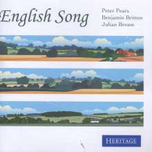 Peter Pears - English Song, CD