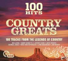 100 Hits: Country Greats, 5 CDs