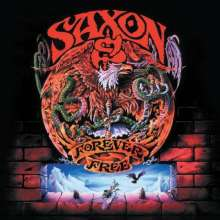 Saxon: Forever Free (180g) (Limited-Edition) (Red Vinyl), LP