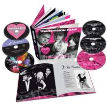 Transvision Vamp: I Want Your Love (Deluxe Book Set), 6 CDs und 1 DVD