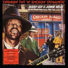 Buddy Guy & Junior Wells: Drinkin' TNT 'N' Smokin' Dynamite (180g) (White Vinyl), LP