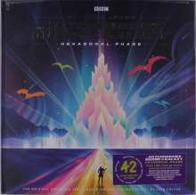 Filmmusik: Hitchhiker's Guide To The Galaxy: Hexagonal Phase (180g) (Limited Edition) (Neon Green Vinyl) (+ Book), 3 LPs