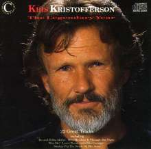 Kris Kristofferson: The Legendary Years, CD
