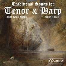 Huw-Rhys Evans & Ieuan Jones - Traditional Songs for Tenor & Harp, DVD-Audio