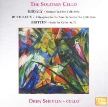 Zoltan Kodaly (1882-1967): Sonate für Cello solo op.8, CD