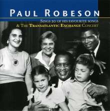 Paul Robeson: Sings 20 Of His Favouri, CD