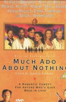Much Ado About Nothing (1993) (UK Import), DVD