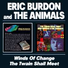 Eric Burdon & The Animals: Winds Of Change / The Twain Shall Meet, 2 CDs
