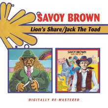 Savoy Brown: Lion's Share / Jack The Toad, 2 CDs
