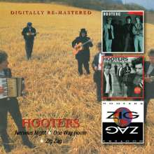 The Hooters: Nervous Night / One Way Home / Zig Zag, 2 CDs