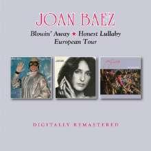Joan Baez: Blowin Away / Honest Lullaby / European Tour, 2 CDs