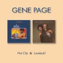 Gene Page: Hot City / Lovelock, CD