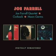 Joe Farrell (1937-1986): Joe Farrell Quartet / Outback / Moon Germs, 2 CDs