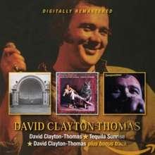 David Clayton-Thomas: David Clayton-Thomas / Tequila Sunrise / David Clayton, 2 CDs