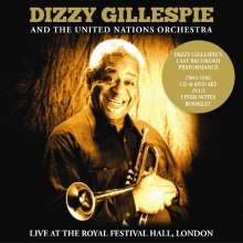 Dizzy Gillespie (1917-1993): Live At Royel Festival Hall, 1 CD und 1 DVD