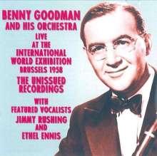 Benny Goodman (1909-1986): Live, Brussels 1958, Un, CD