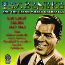 Tex Beneke & The Glenn Miller Orchestra: One Night Stands, CD