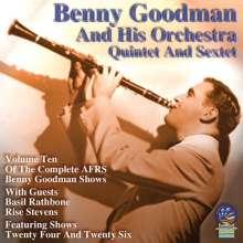Benny Goodman (1909-1986): AFRS Shows Volume Ten, CD