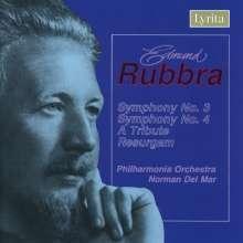 Edmund Rubbra (1901-1986): Symphonien Nr.3 & 4, CD