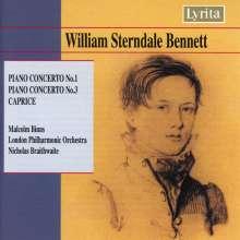 William Sterndale Bennett (1816-1875): Klavierkonzerte Nr.1 & 3, CD