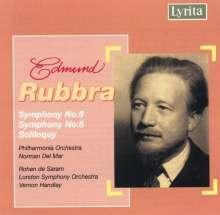 Edmund Rubbra (1901-1986): Symphonien Nr.6 & 8, CD