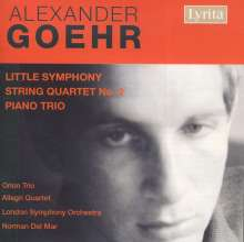 Alexander Goehr (geb. 1932): Little Symphony op.15, CD