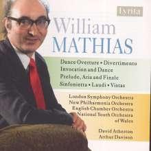 William Mathias (1934-1992): Sinfonietta op.34, CD