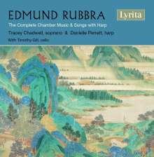 Edmund Rubbra (1901-1986): Kammermusik für Harfe & Lieder mit Harfe, CD
