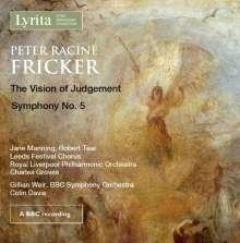 Peter Racine Fricker (1920-1990): The Vision of Judgement op.29 für Sopran, Tenor, Chor & Orchester, CD