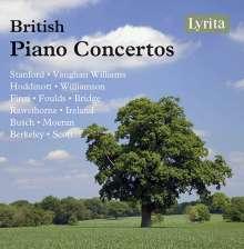 British Piano Concertos, 4 CDs
