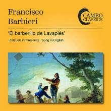 Francisco Asenjo Barbieri (1823-1894): El Barberillo de Lavapies (Zarzuela in 3 Akten / in englischer Sprache), 2 CDs