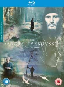 The Andrei Tarkovsky Collection  (Blu-ray) (UK Import), 8 Blu-ray Discs