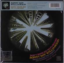 Sonny Boy Williamson II.: Don't Send Me No Flowers (RSD) (Reissue) (remastered) (Limited-Numbered-Edition) (Translucent Vinyl) (mono), LP