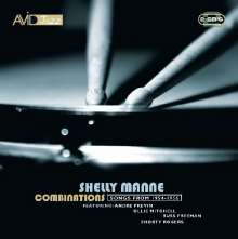 Shelly Manne (1920-1984): Combinations: Sessions 1954 - 1956, 2 CDs