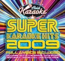 Super Karaoke Hits 2009, CD
