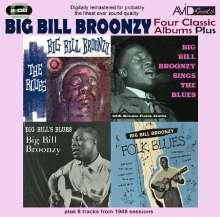 Big Bill Broonzy: Four Classic Albums Plus, 2 CDs