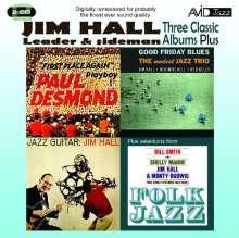 Jim Hall (1930-2013): Three Classic Albums Plus, 2 CDs