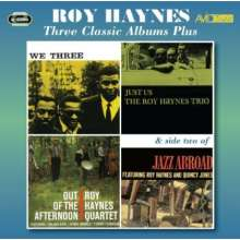 Roy Haynes (geb. 1925): We Three / Just Us / Out Of The Afternoon, 2 CDs