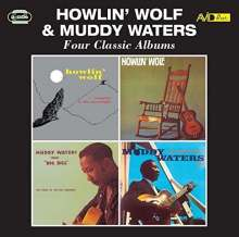 Howlin' Wolf & Muddy Waters: Four Classic Albums, 2 CDs