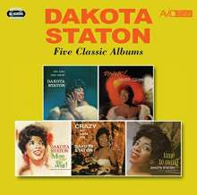 Dakota Staton (1930-2007): Late Late Show / Dynamic / More Than The Most / Crazy He Calls Me /Time To Swing, 2 CDs
