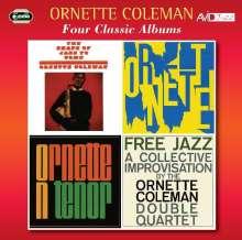 Ornette Coleman (1930-2015): Four Classic Albums, 2 CDs