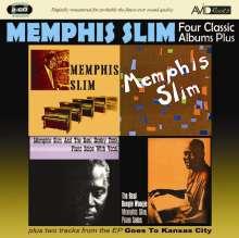 Memphis Slim: Four Classic Albums Plus, 2 CDs