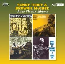 Sonny Terry & Brownie McGhee: Four Classic Albums, 2 CDs