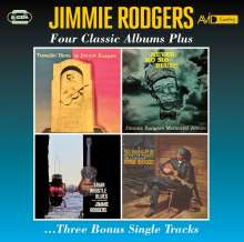 Jimmie Rodgers: Four Classic Albums Plus Three Bonus Single Tracks, 2 CDs