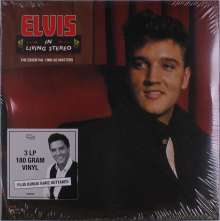 Elvis Presley (1935-1977): In Living Stereo - The Essential 1960-62 Masters (180g), 3 LPs