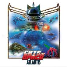 Cats In Space: Atlantis (Limited Edition) (Gold Vinyl), LP