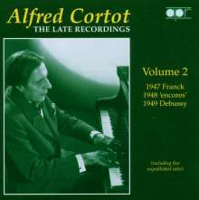 Alfred Cortot - The Late Recordings, CD