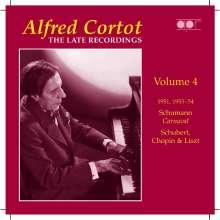 Alfred Cortot - The Late Recordings Vol.4, CD