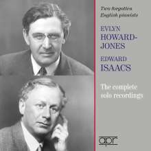 Evlyn Howard-Jones & Edward Isaacs - The Complete Solo Recordings, 2 CDs